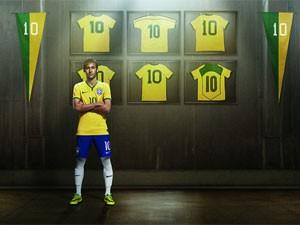 Uso da camisa da seleção só pode ser feito por patrocinadores como a Nike ou com autorização (Foto: Divulgação)