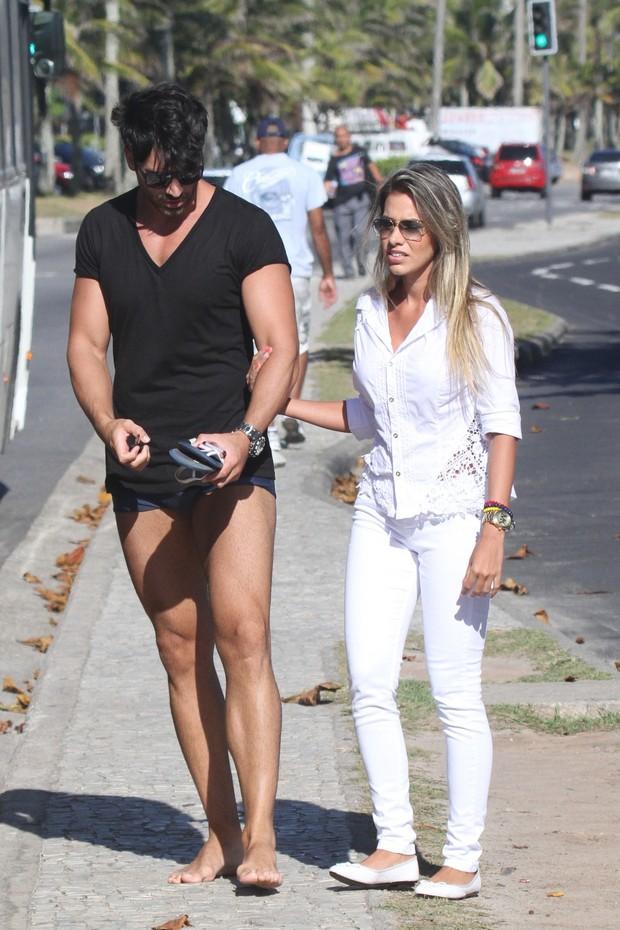 Adriana e Rodrigão (Foto: Dilson Silva/ Ag. News)