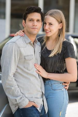 Bruno e Jéssica (Foto: TV Globo)