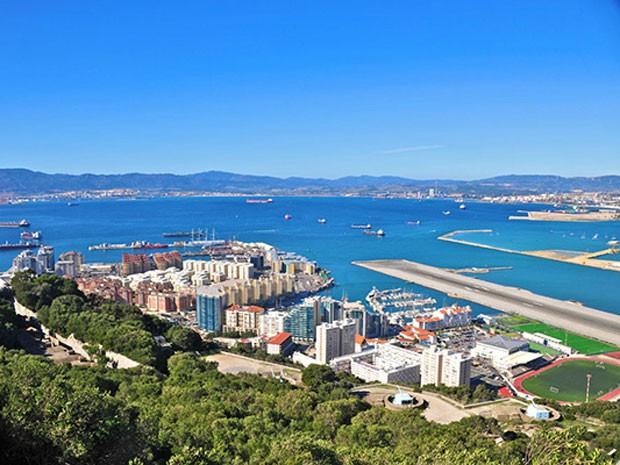 O Aeroporto de Gibraltar (Foto: PrivateFly/Divulgação)