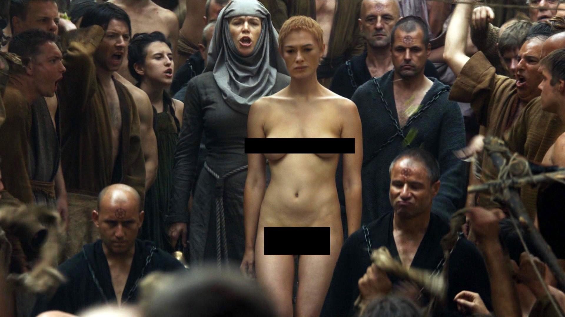 Lena Headey em Game of Thrones (Foto: Reprodução)