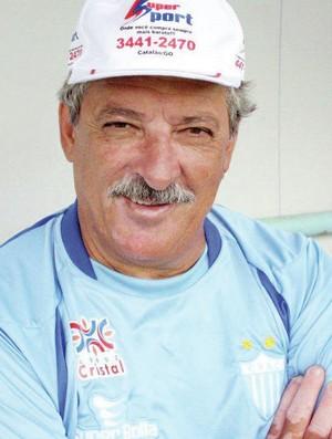 Wanderley Paiva, técnico do Crac (Foto: O Popular)