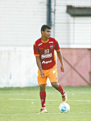 Max Oliveira, zagueiro do Fortaleza (Foto: Agência Diario)