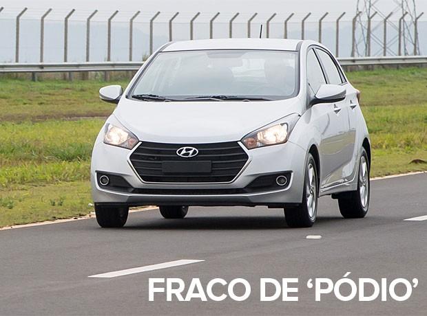carros mais vendidos por estado 2015 - hb20 (Foto: Divulgação)