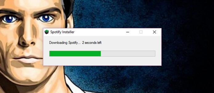 Instale normalmente o Spotify no Windows (Reprodução/Carol Danelli)