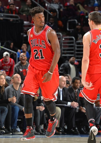 Philadelphia 76ers x Chicago Bulls - Jimmy Butler (Foto: Jesse D. Garrabrant / Getty Images)