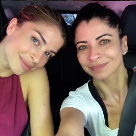 Grazi Massafera e Anna Lima (Foto: Reprodução / Instagram)