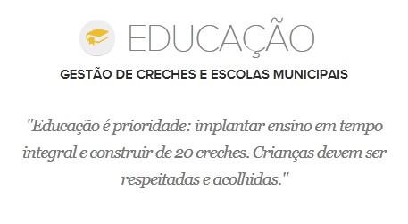 Proposta de Edivaldo Holanda para a Educação (Foto: G1 Maranhão)
