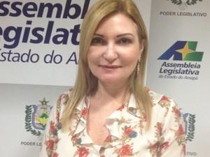 deputada, Mira Rocha, CFO, comissão, orçamento, alap, Macapá, AMapá (Foto: Jéssica Alves/G1)