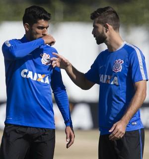 Vilson e Felipe, Corinthians (Foto: Daniel Augusto Jr/Ag. Corinthians)