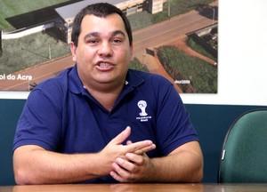 Nelson Ayres, gerente de comunicação do Comitê Organizador da Copa (Foto: João Paulo Maia)