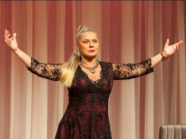 """Vera Fisher atuando em """"Ela é o cara' (Foto: Divulgação/Ariel Bernardino)"""