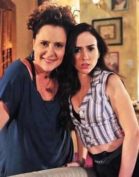 Elizabeth Savalla e Tatá Werneck (Foto: Divulgação/TV Globo)