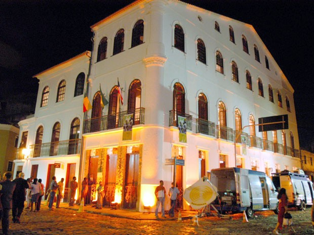 Casa do Benin, no Pelourinho, em Salvador, na Bahia (Foto: Divulgação)