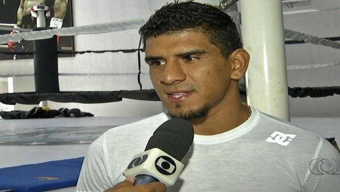 José Neto - muay thai (Foto: Reprodução / TV Anhanguera)