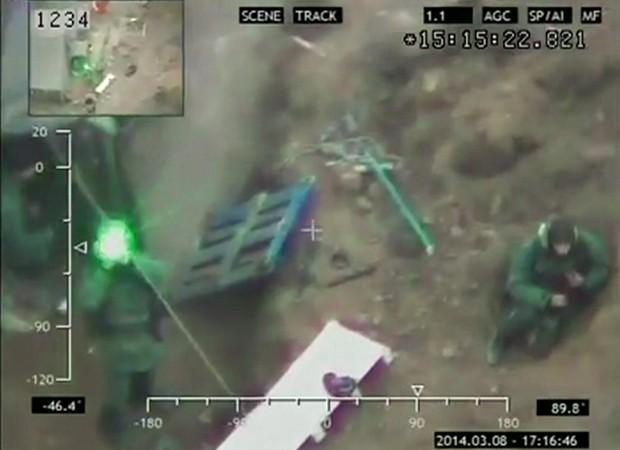 Soldados estariam escavando trincheiras e atiraram contra drone (Foto: BBC)