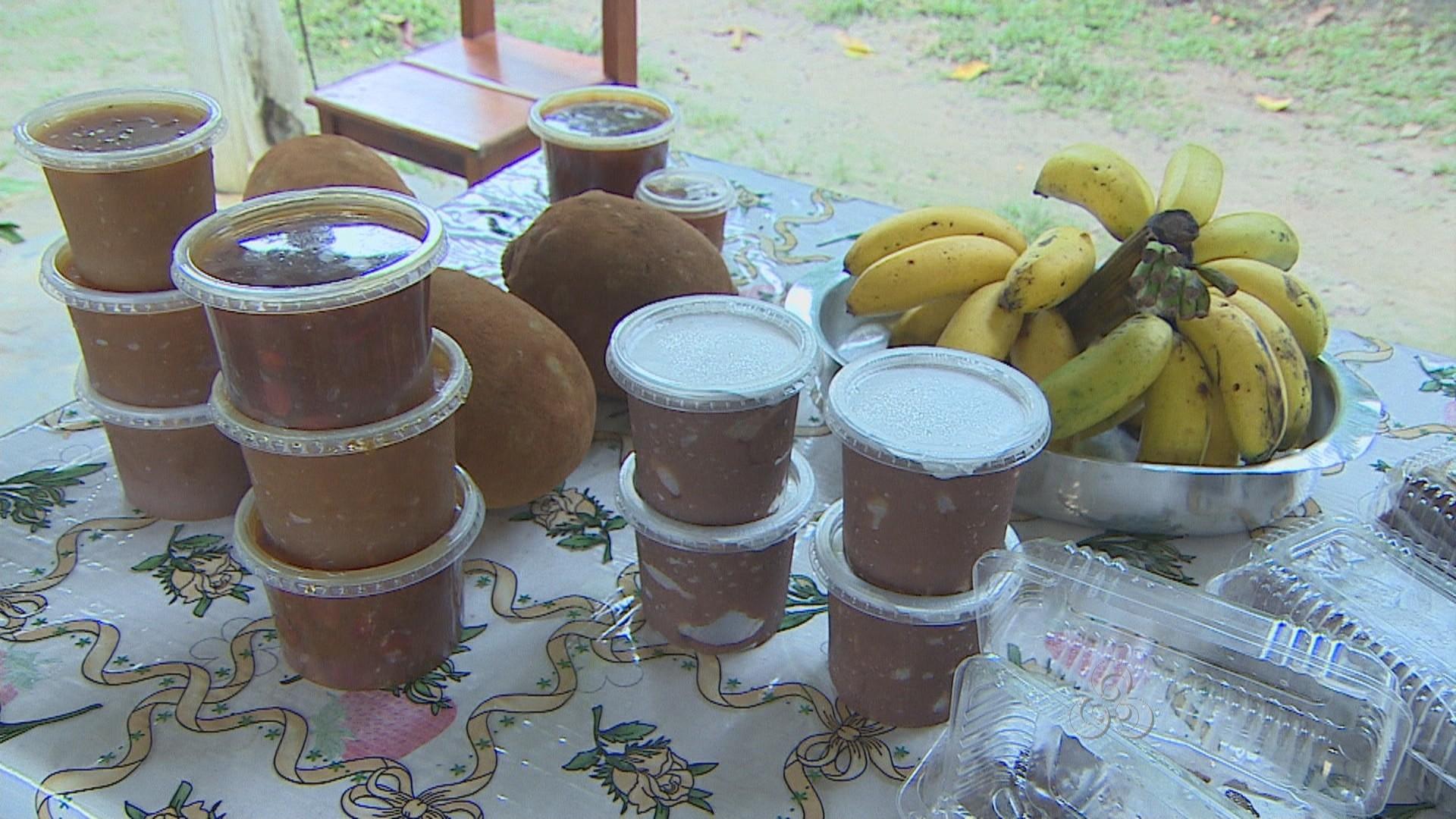 Doces são produzidos sem corantes e conservantes (Foto: Bom Dia Amazônia)