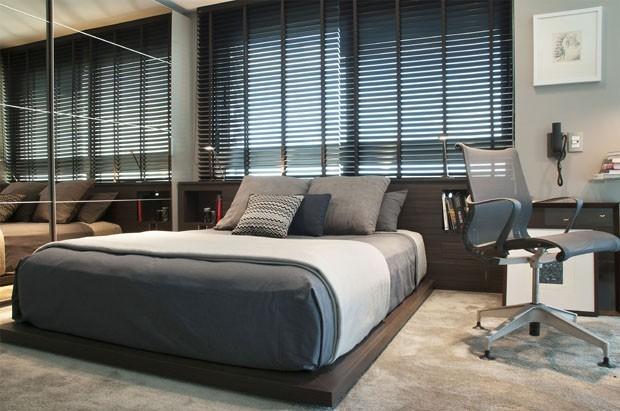 Quarto cinza 15 opções elegantes  Casa Vogue  Ambientes