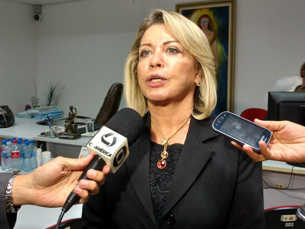 Selma Rosane dos Santos Arruda, da 7ª Vara Criminal de Cuiabá, mandou prender políticos do alto escalão (Foto: Lislaine dos Anjos/G1)