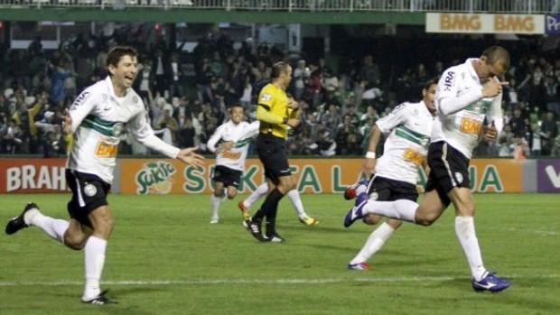 Coritiba x Atlético-GO pelo campeonato Brasileiro (Foto: Divulgação/site oficial do Coritiba Foot Ball Club)