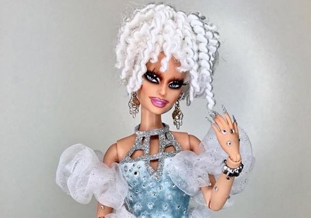 Mark Jonathan transforma Barbie em drag (Foto: Instagram/Reprodução)