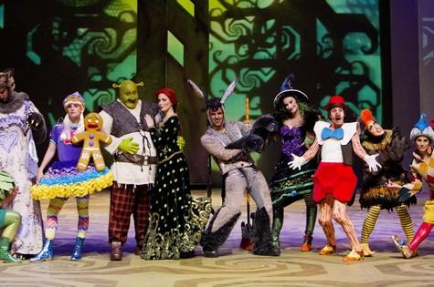 Elenco do musical 'Shrek': testes para 'Sangue bom' (Foto: Guito Moreto)