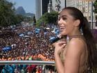 Anitta leva multidão ao Centro da cidade (Divulgação/Fernando Maia/Riotur)