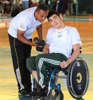 André Barroso, atleta da bocha adaptada (Foto: Divulgação/Ande)