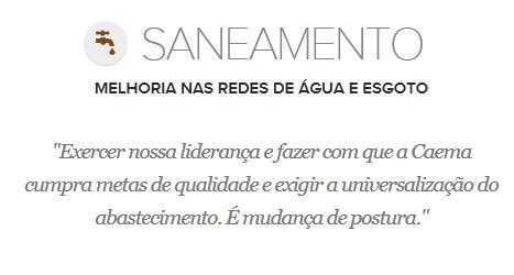 Proposta de Edivaldo Holanda para o Saneamento (Foto: G1 Maranhão)
