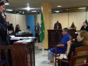 Réu enfrenta júri popular em Belém nesta segunda-feira (29) por participação em assassinato do professor Raimundo Lucier. (Foto: Divulgação/UFPA)