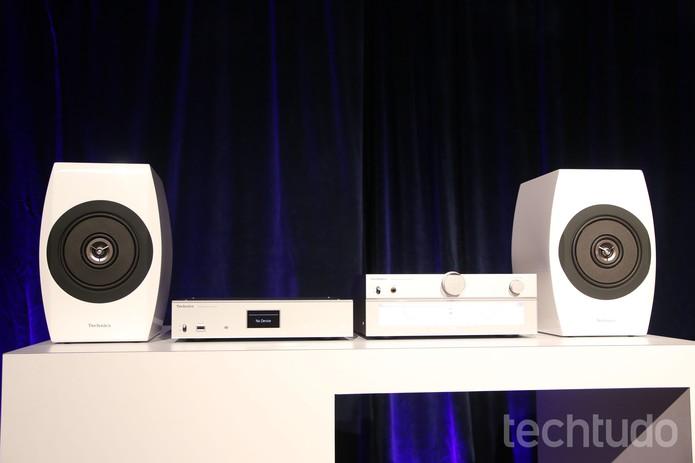 Panasonic som (Foto: Fabricio Vitorino/ TechTudo)