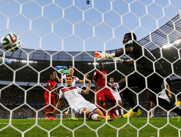 Klose gol Alemanha x Gana (Foto: Reuters)