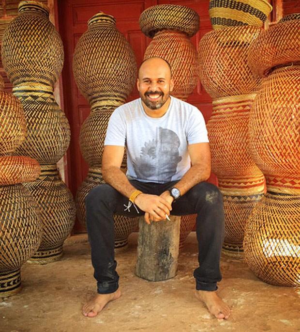Sergio J. Matos, Artesol e o design em comunidades brasileiras (Foto: Divulgação)
