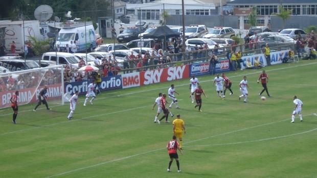 Atlético-PR x CRB, pela Série B do Campeonato Brasilerio (Foto: Fernando Freire/GLOBOESPORTE.COM)