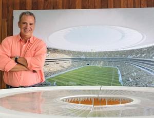 Sérgio Graça, do Comitê Brasília 2014 para a Copa do Mundo (Foto: Fabrício Marques / GLOBOESPORTE.COM)