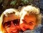 Duda, filha Debby Lagranha, curte hotel fazenda onde os pais trabalham