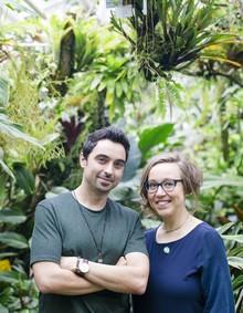 Igor Josifovic e Judith de Graff (Foto: Lina Skukauske | Urban Jungle Bloggers)