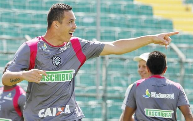 Marcelo Toscano, atacante do Figueirense (Foto: Luiz Henrique, Divulgação / Figueirense)