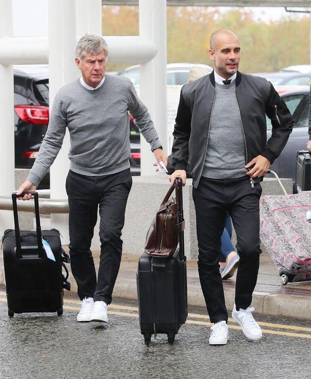 Pep Guardiola e Brian Kidd