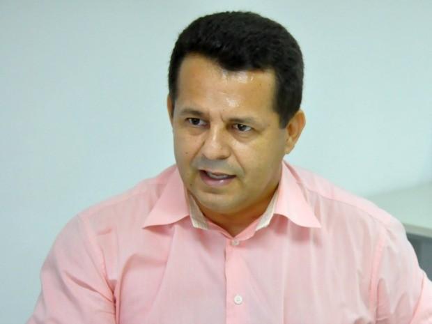 O deputado federal eleito Valtenir Pereira (PROS). (Foto: Jéssica Brito / G1)