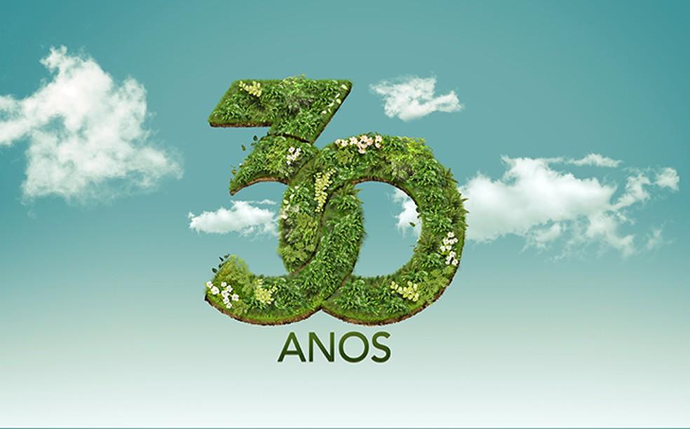 Projeto ambiental é em comemoração aos 30 anos das afiliadas Globo na Paraíba (Foto: Divulgação)