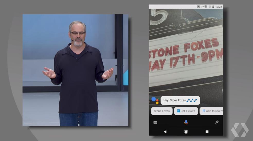 Google Assistant traz função Lens para identificar informações com a câmera (Foto: Reprodução/YouTube)