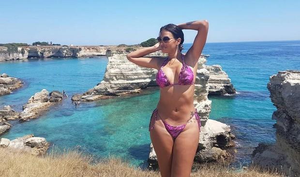 Ex-BBB Ariadna curtindo o verão europeu (Foto: Reprodução/Instagram)