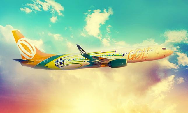 Degrossi também venceu concurso para desenhar um dos aviões que transportaram a seleção brasileira na Copa de 2014
