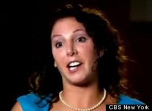 A professora Erica DePalo, em imagem da CBS (Foto: Reprodução)