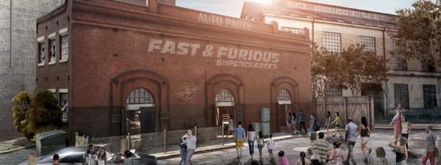Fast & Furisou Supercharged (Foto: Divulgao)