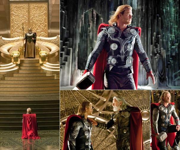 Chris Hemsworth é Thor, guerreiro do reino e herdeiro do trono de Asgard; filme inédito vai ao ar domingo, dia 13 (Foto: Divulgação)