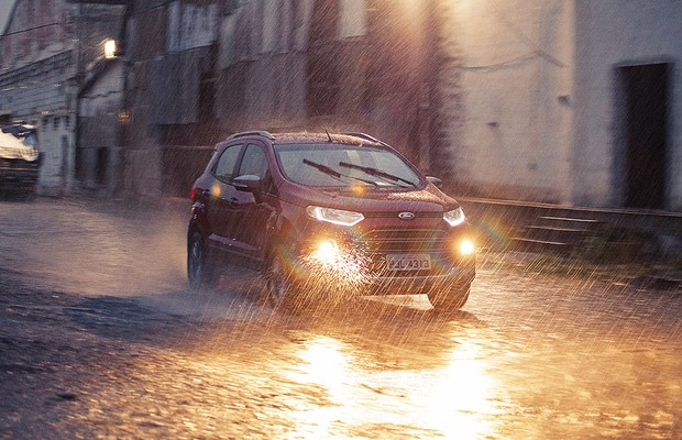 Ford Ecosport 1.6 Powershift (Foto: Bruno Guerreiro)