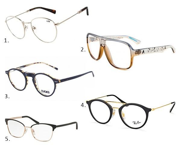 òculos diferentes para criar um look geek (Foto: Divulgação)