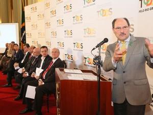 governador José Ivo Sartori cpmf palácio piratini (Foto: Luiz Chaves/Palácio Piratin)